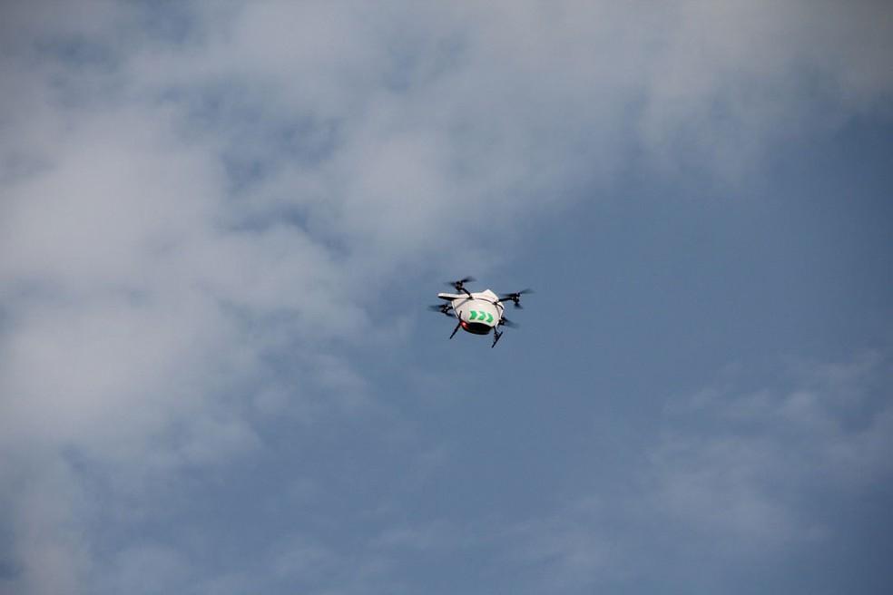 Os drones poderão entregar remédios, alimentos e correspondência — Foto: Divulgação/Drone Delivery Canada