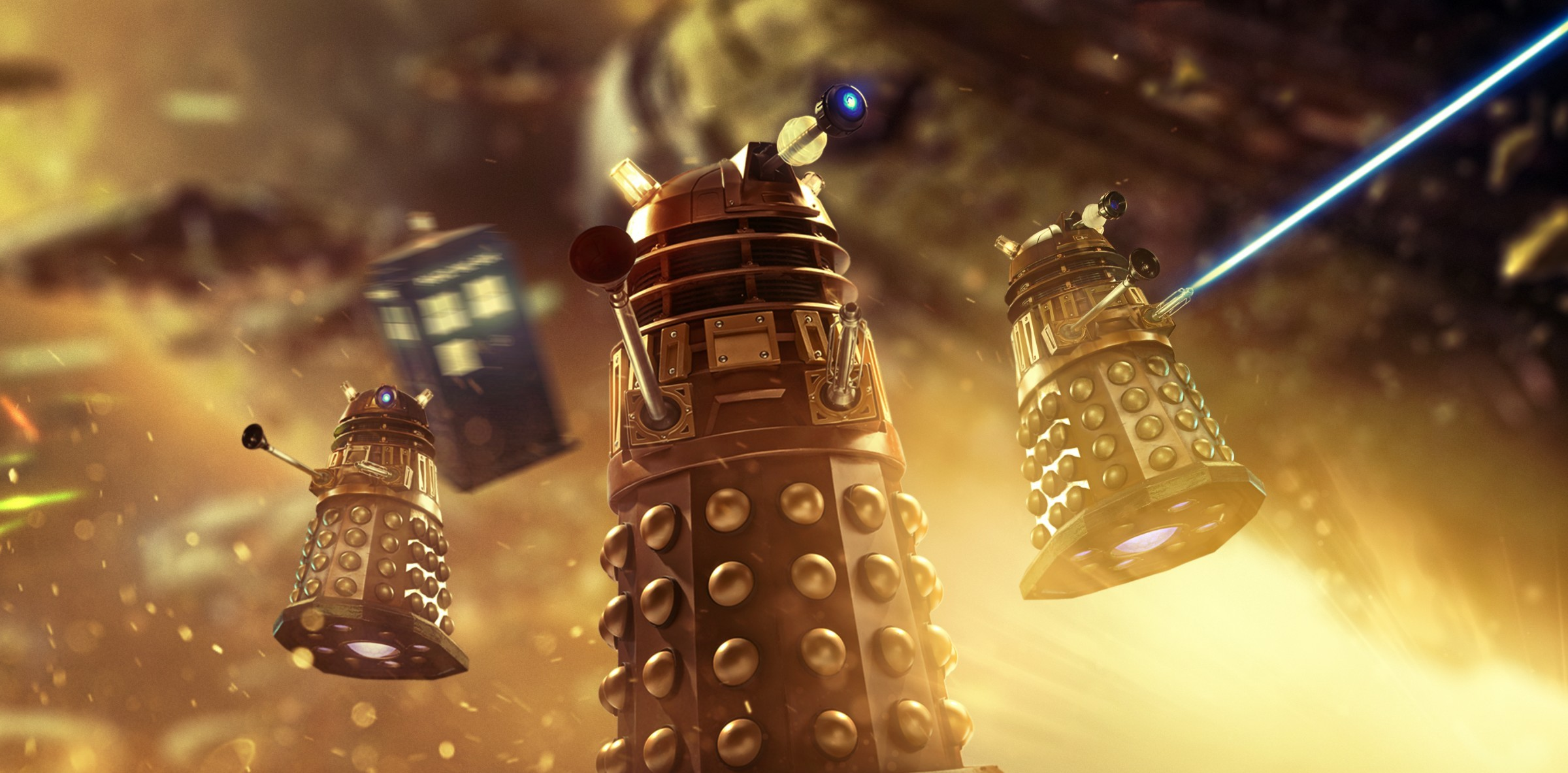 Daleks (Foto: Divulgação)