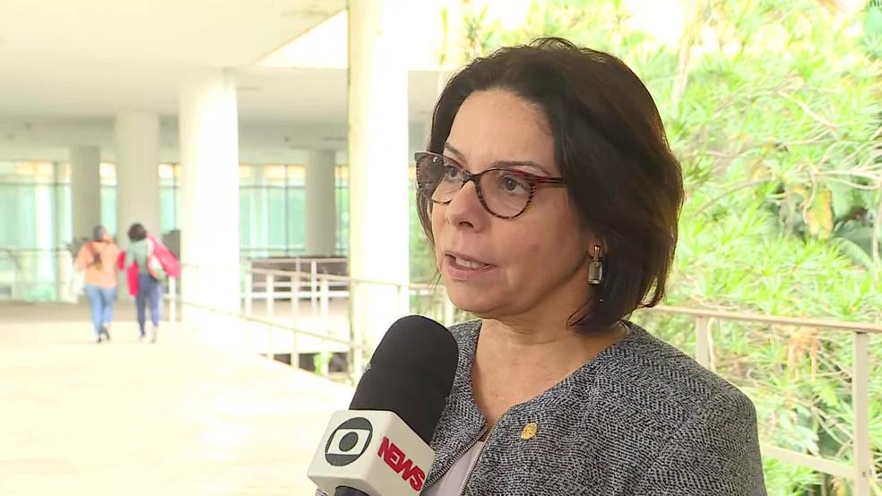Denise Pires de Carvalho, reitora da UFRJ — Foto: Reprodução/TV Globo