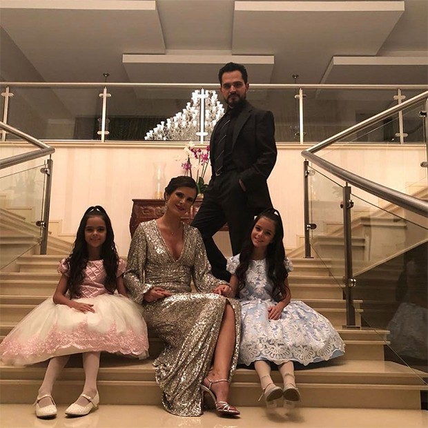 Luciano Camargo e familia