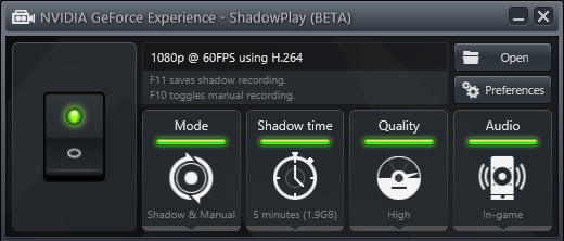 Shadowplay saiba como gravar um gameplay em placas nVidia  Dicas