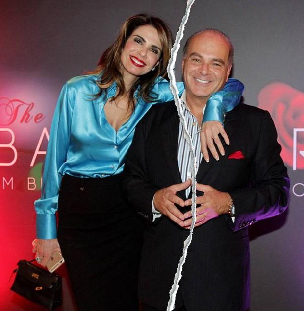 Luciana Gimenez e Marcelo de Carvalho (Foto: Ricardo Cardoso/ Ed. Globo)