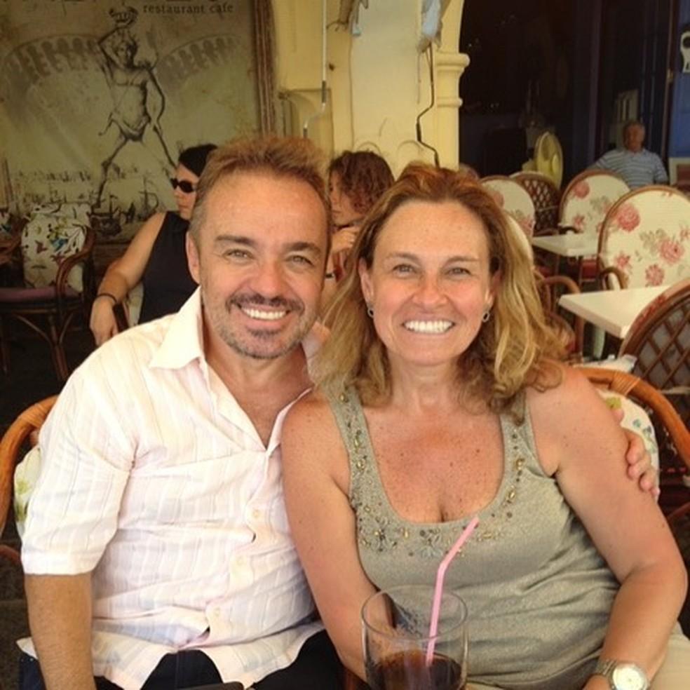Aparecida Liberato faz homenagem ao irmão, o apresentador Gugu Liberato  — Foto: Reprodução/Instagram