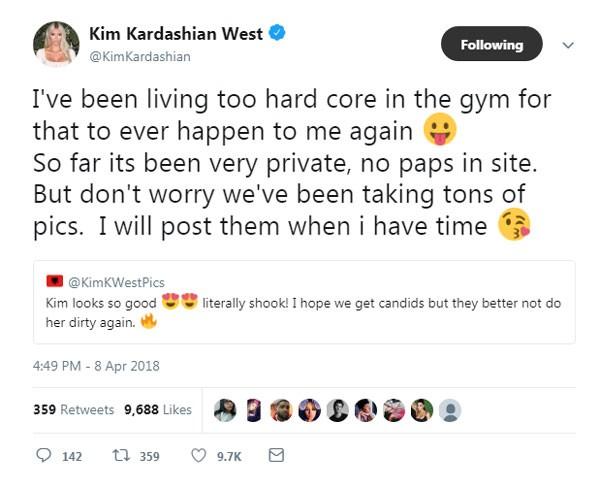 Postagem com o desabafo de Kim (Foto: Reprodução/Twitter)