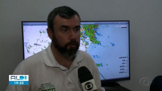 Chuvas devem continuar na terça em Alagoas
