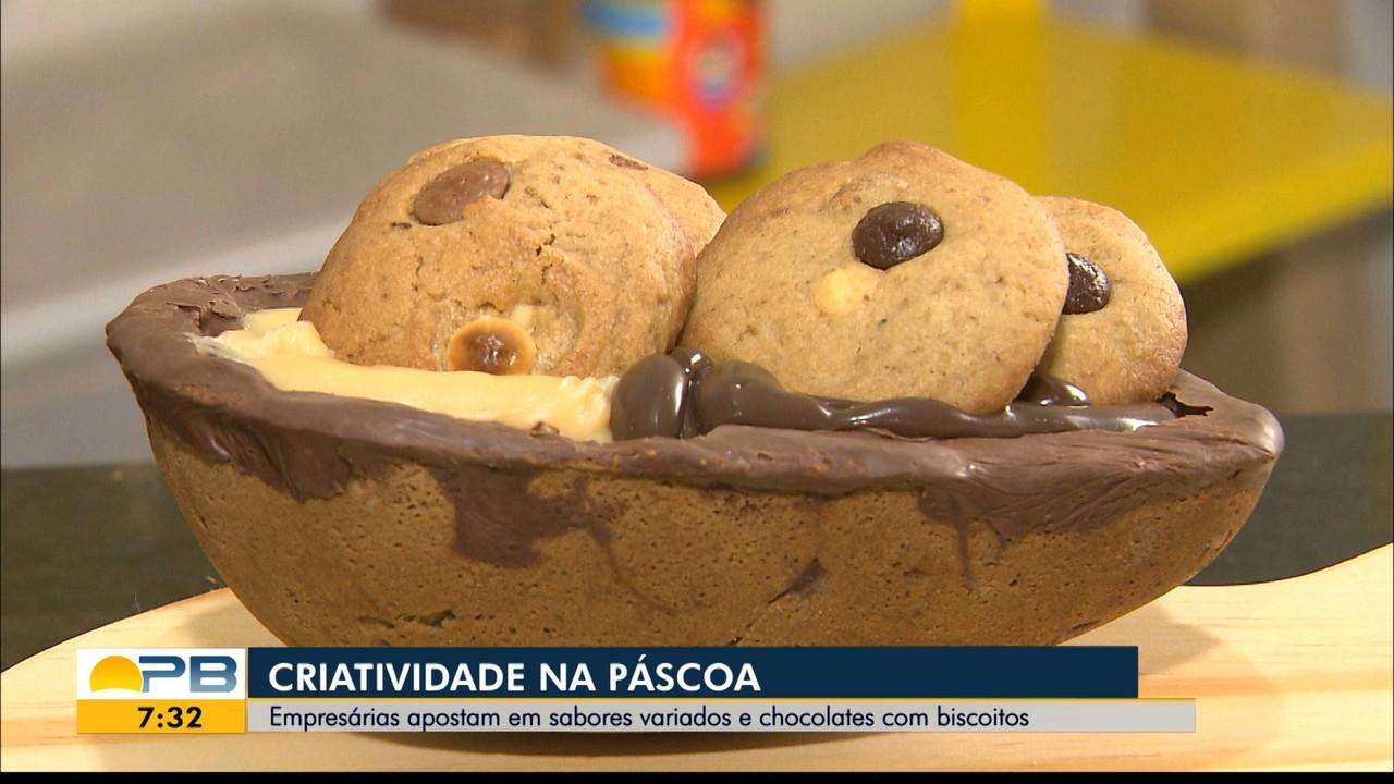 Páscoa: empresárias apostam em sabores variados e chocolates com biscoitos