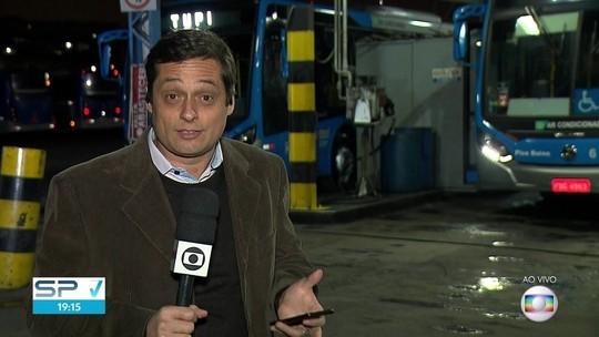 SP suspende rodízio e tira das ruas 40% da frota de ônibus hoje