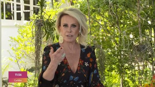 Ana Maria alerta para golpe usando nome do 'Mais Você'