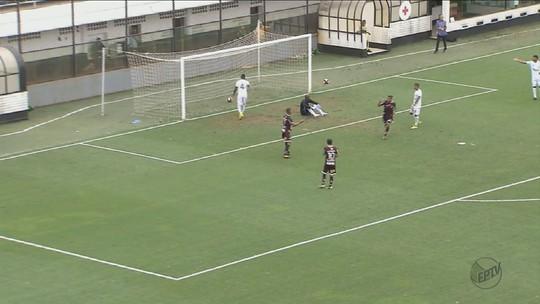 Ferroviária goleia o Santos por 4 a 0 na Vila Belmiro; confira os gols