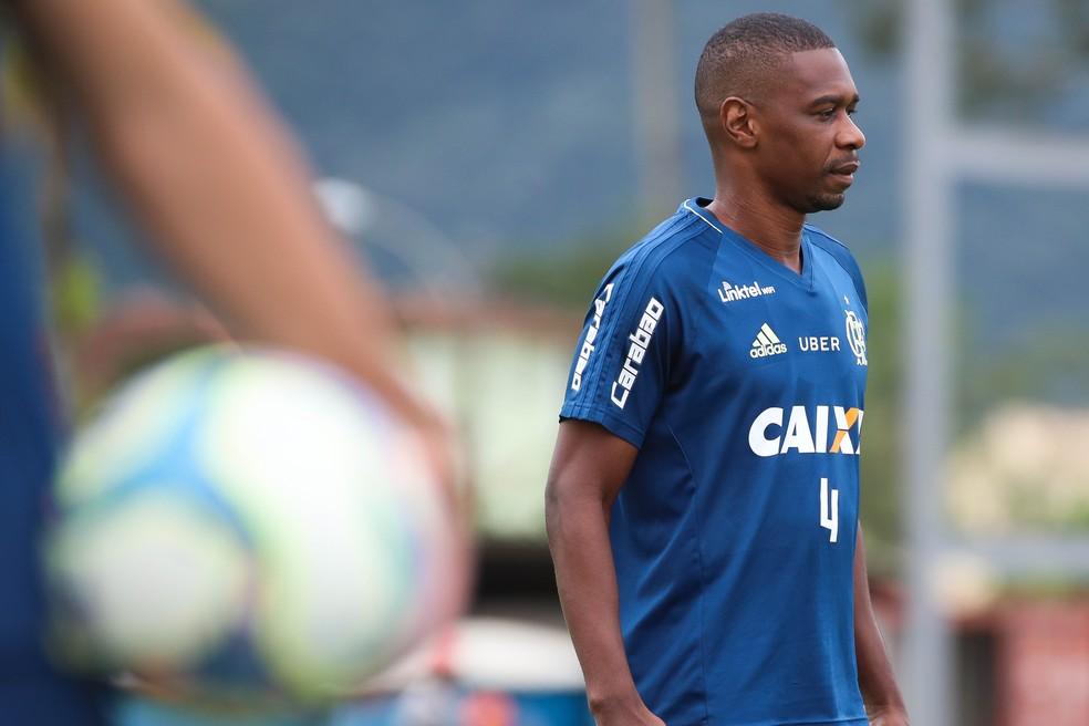 Juan desfalcou o Flamengo nos últimos dois jogos  (Foto: Gilvan de Souza/Divulgação Flamengo)