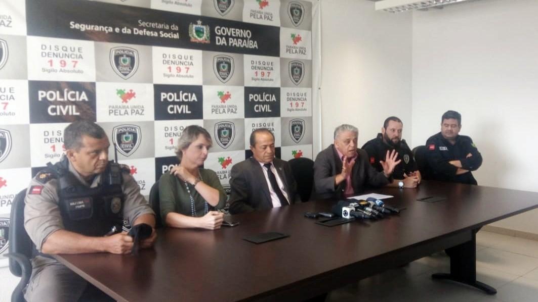 Dois dos alvos de operação contra tráfico são chefes de facção em Santa Rita, PB, diz delegado - Noticias