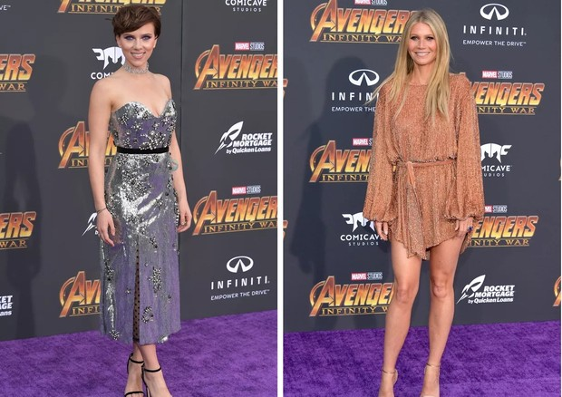 Scarlett Johansson e Gwyneth Paltrow (Foto: Getty Images)