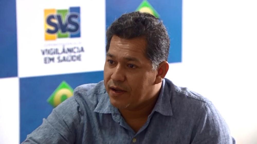 Dorinaldo Malafaia, superintendente de Vigilância em Saúde — Foto: Reprodução/Rede Amazônica