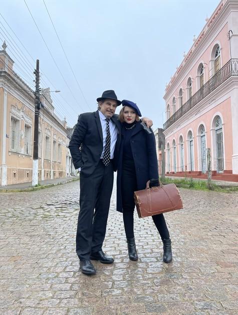 Edson Celulari e Karin Roepke (Foto: Divulgação)