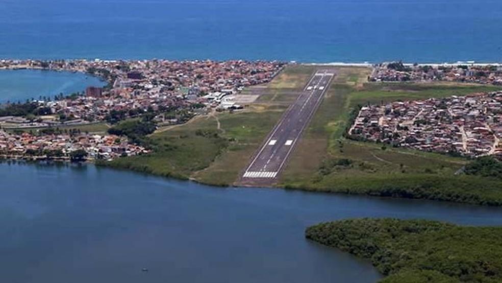 Aeroporto Jorge Amado, em Ilhéus — Foto: José Nazal/ Divulgação