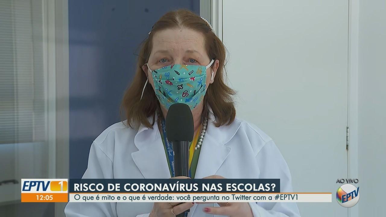 Especialista esclarece dúvidas sobre volta das crianças à escola na pandemia