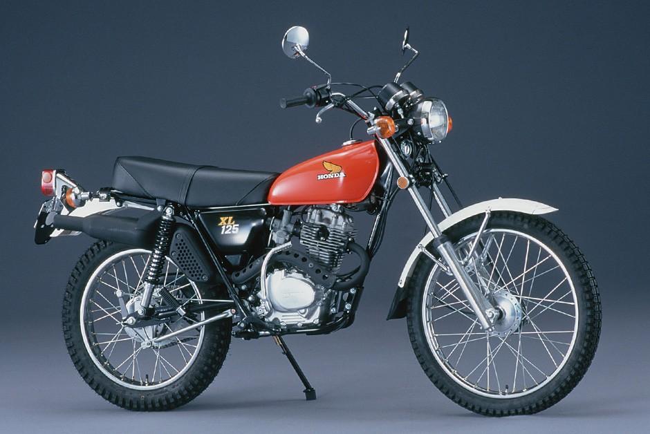 Objetivo da Honda era comprovar (e divulgar) a resistência da XL - na foto, modelo de 1975 (Foto: Divulgação/Honda) (Foto: Honda/Divulgação)