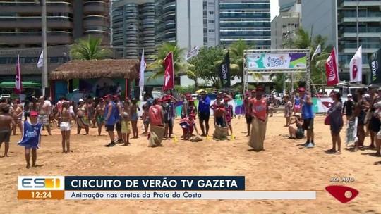 Arena Verão da TV Gazeta agita a Praia da Costa, em Vila Velha