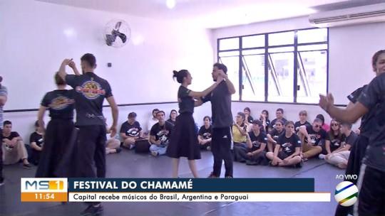 Campo Grande recebe músicos e bailarinos de países vizinhos