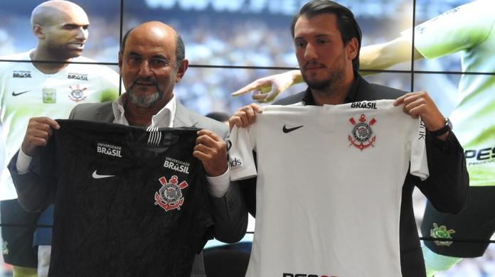 Corinthians tem desenvolvedora de PES como patrocinadora oficial  aa169e448277e
