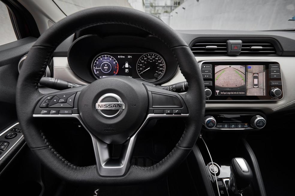 Nissan Versa 2020 interior - Photo: Press Release