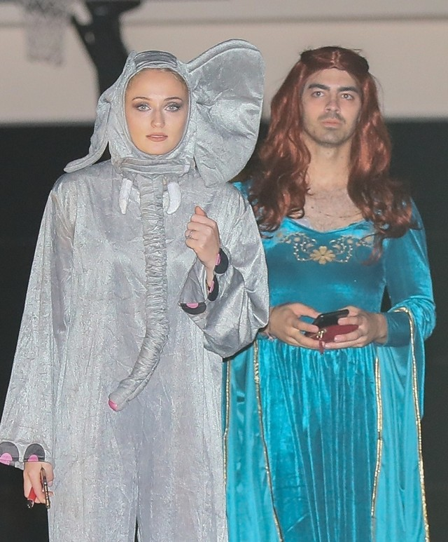 Sophie Turner e Joe Jonas  (Foto: Backgrid)