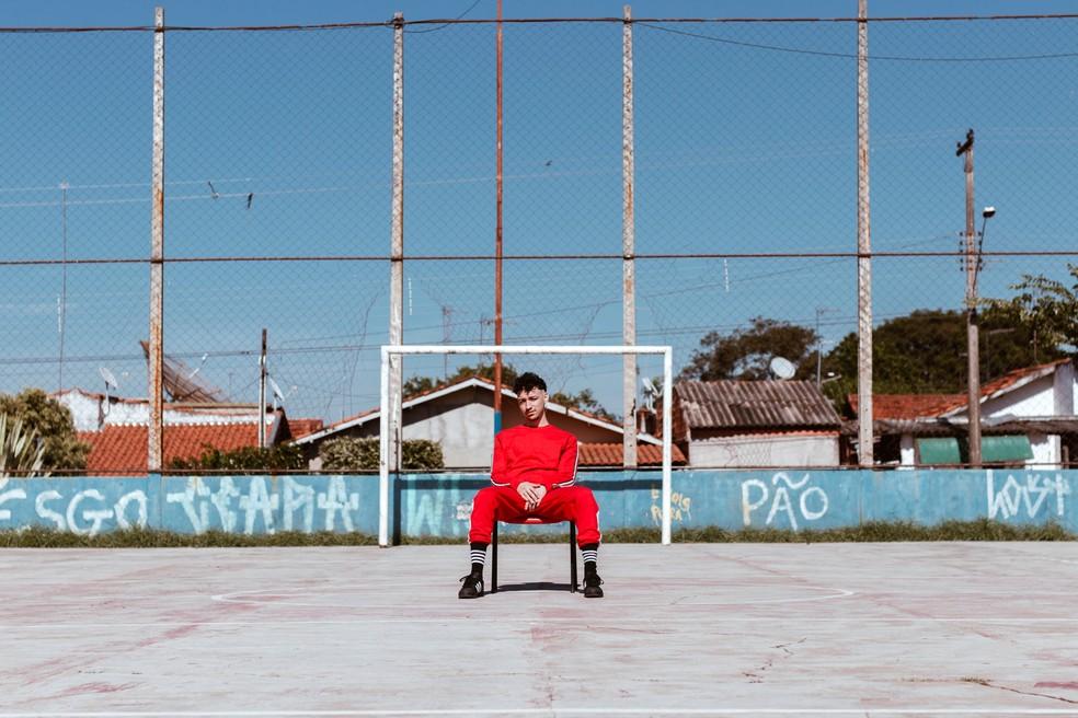 Música de Leme canta profissionalmente há 4 anos — Foto: Gabriela Araujo