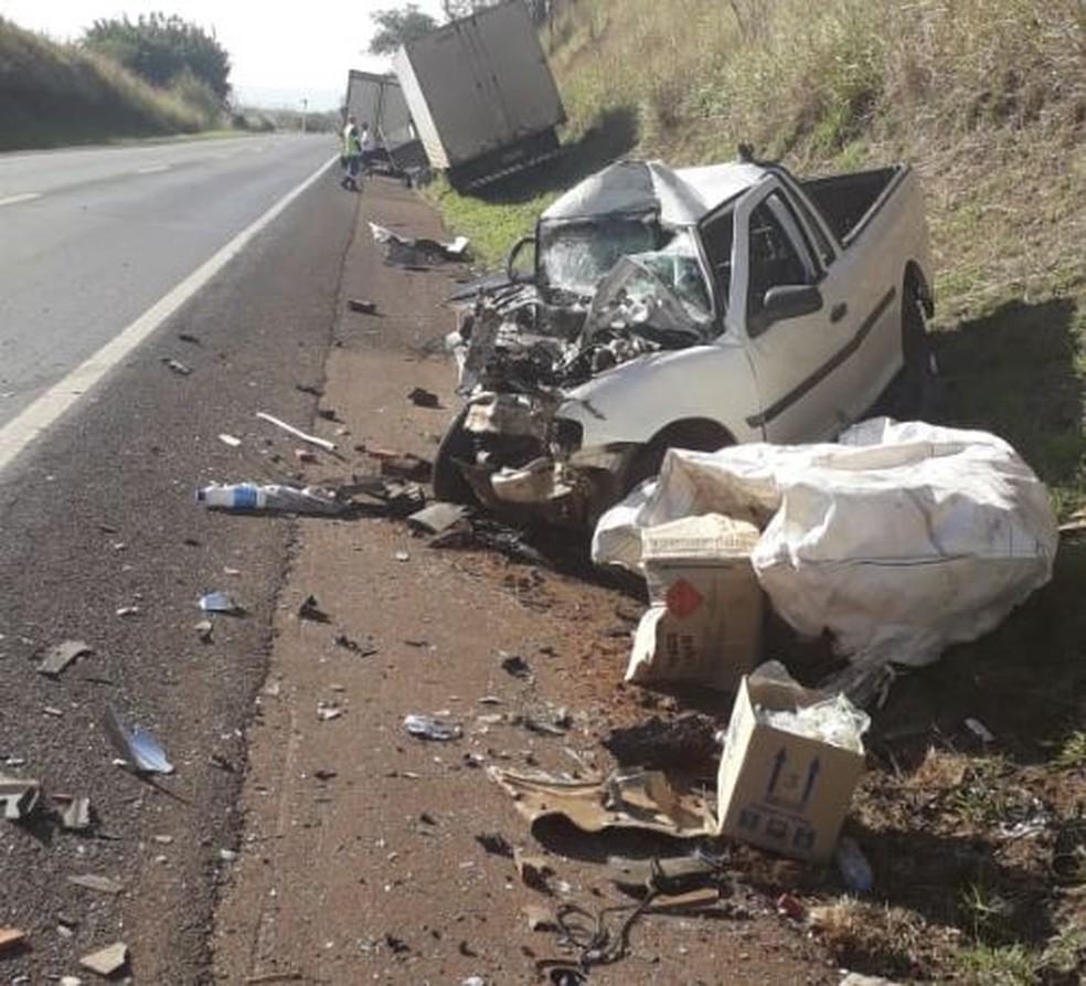Motorista morreu após acidente em rodovia de São Manuel — Foto: Arquivo Pessoal/Luiz Garcia