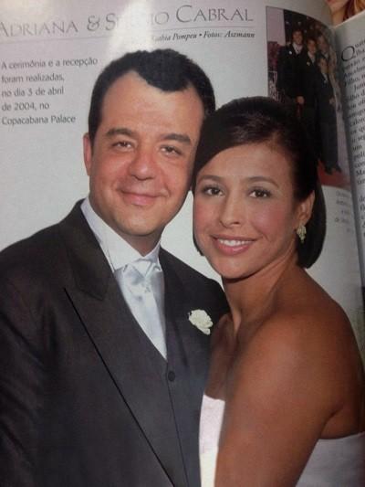 casamento de Sérgio Cabral e Adriana Ancelmo
