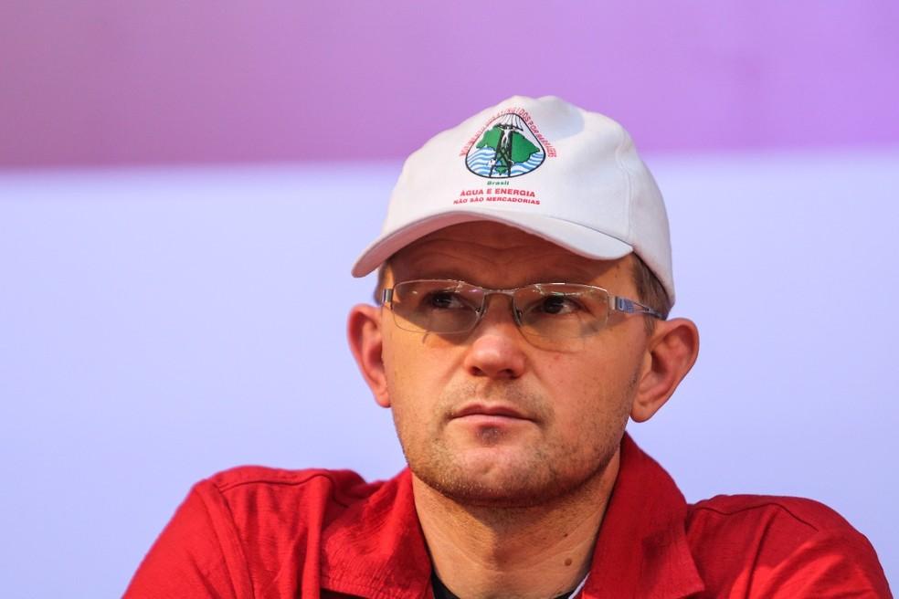 Gilberto Cervinski, coordenador nacional do Movimento dos Atingidos por Barragens (Foto: Joka Madruga/MAB)