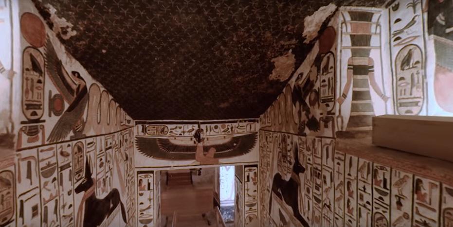 Túmulo da rainha Nefertari (Foto: Reprodução)