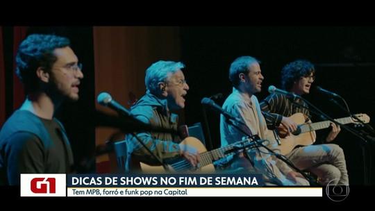 Caetano Veloso, Ludmilla e Zé Ramalho estão na agenda de shows de São Paulo
