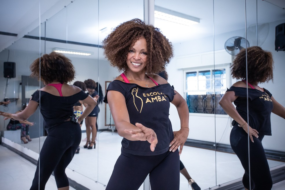 Solange Ferreira, professora e bailarina — Foto: Celso Tavares/G1