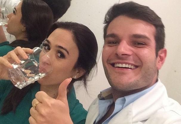 Dr. Theo e Tatá (Foto: Divulgação)