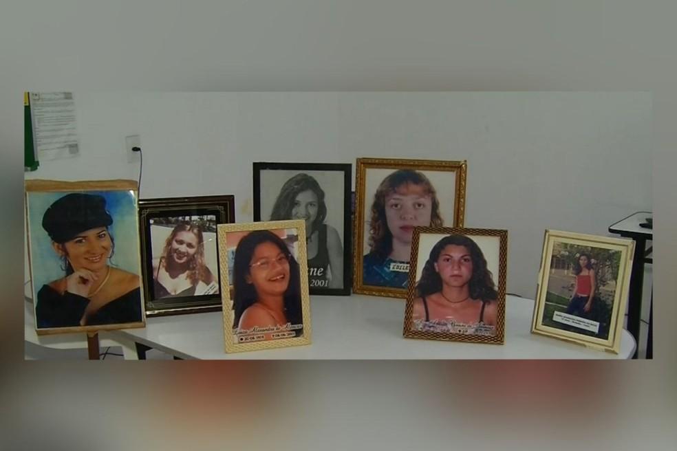 Sete mulheres foram vítimas de uma série de homicídio ocorridos há 20 anos no Cariri.  — Foto: Reprodução/TV Verdes Mares