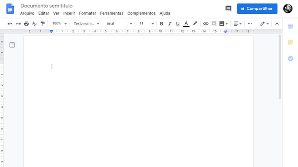 Funções offline no Chromebook se restringem a algumas como a criação de textos — Foto: Reprodução/Paulo Alves