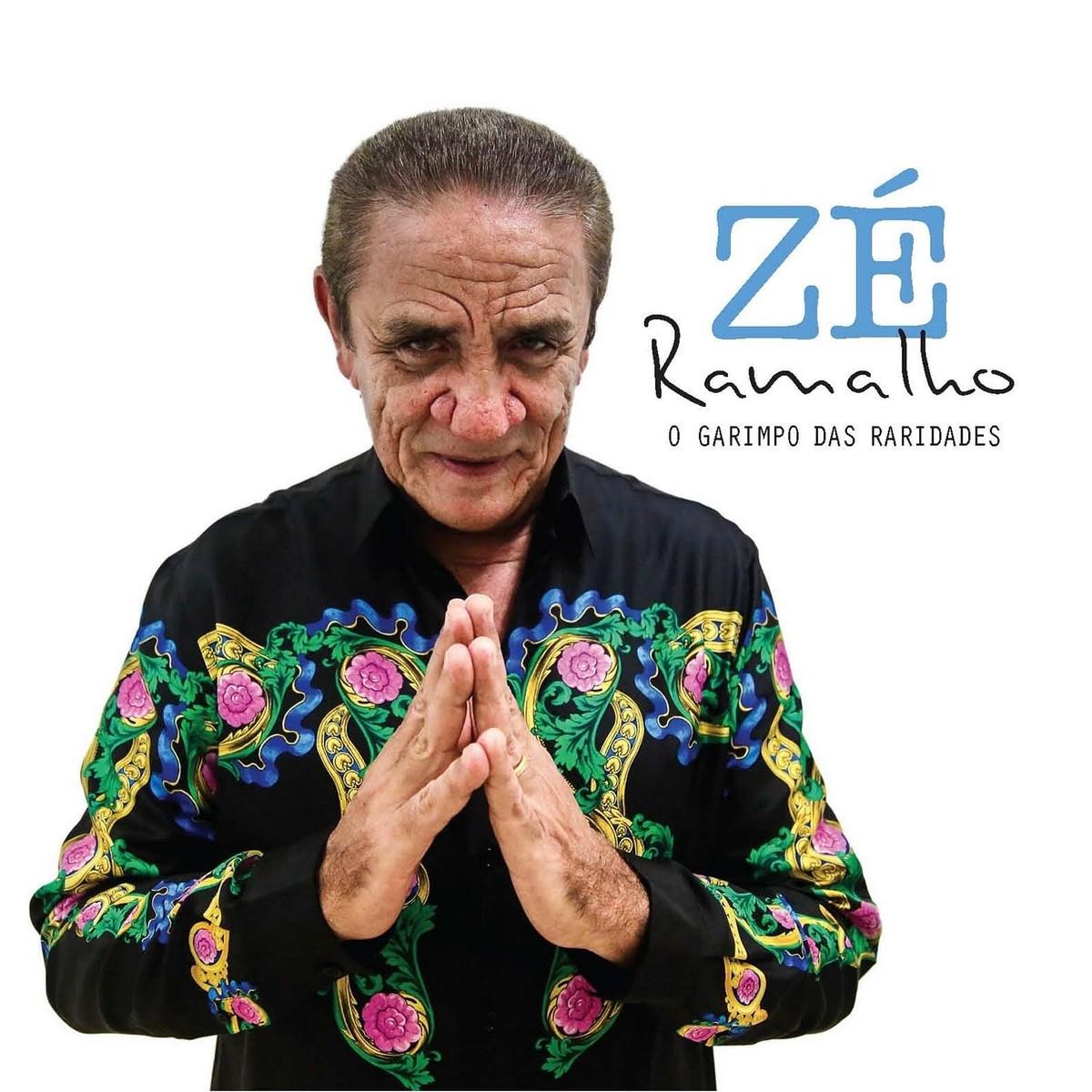 Garimpo de Zé Ramalho em caixa com quatro CDs inclui duetos raros e gravação de show acústico de 1997