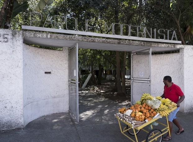 Fachada do Parque Modernista na Vila Mariana. Foto: André Bueno.