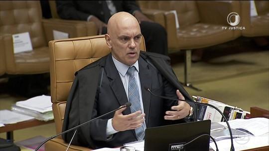 Moraes defende que Receita possa passar todos os dados ao MP
