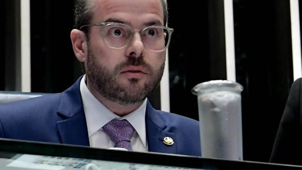 Senador Prisco Bezerra testa positivo para coronavírus e diz que participará de sessão remota do Senato — Foto: Agência Senado