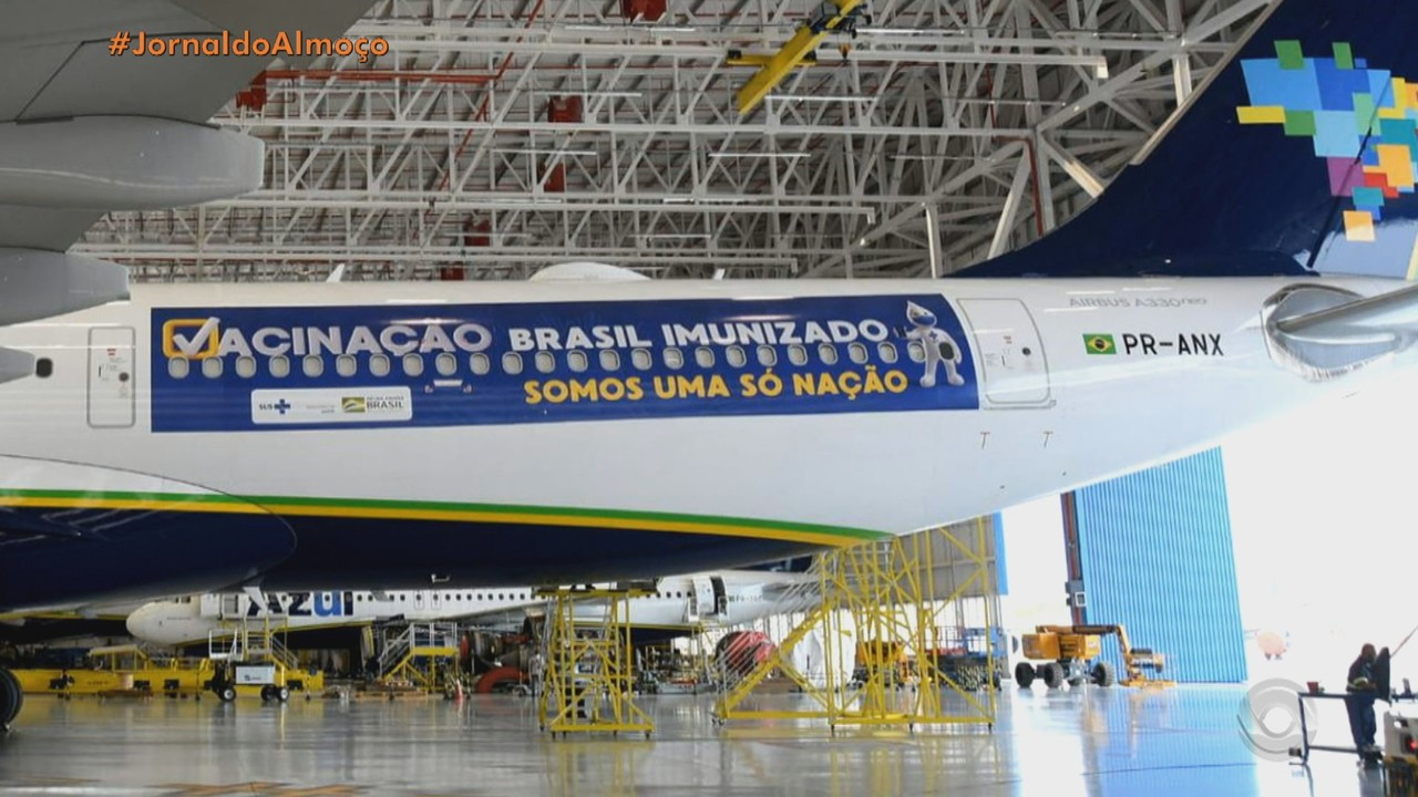 Avião sai do Recife nesta sexta para buscar doses da vacina de Oxford na Índia