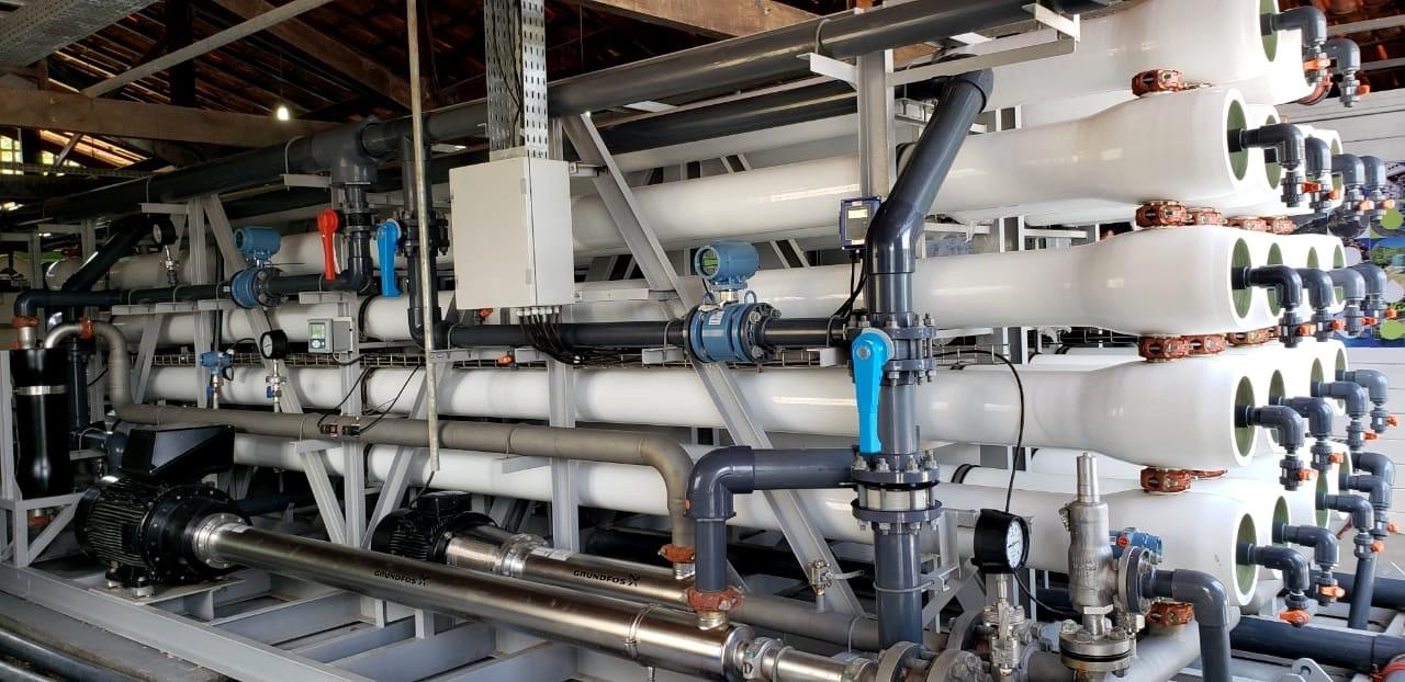 Novo dessalinizador de água marinha é inaugurado em Fernando de Noronha