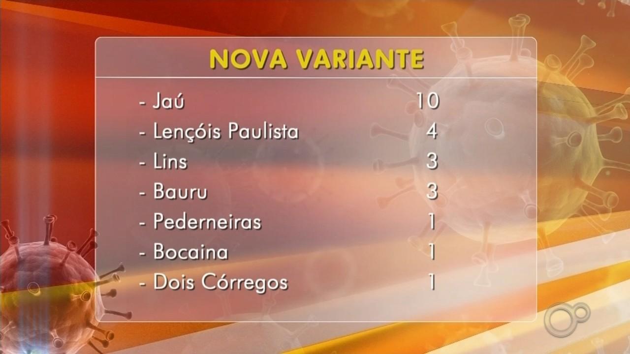 Estado confirma mais de 20 casos da variante brasileira do coronavírus na região de Bauru