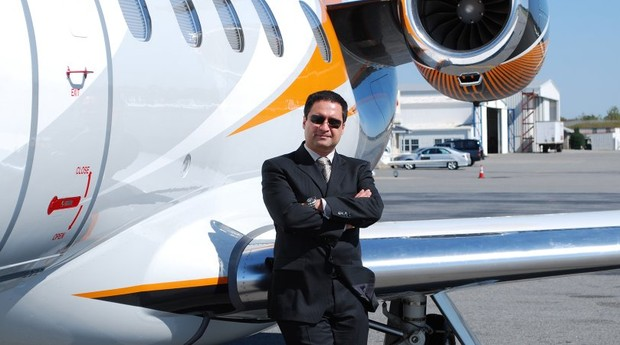 Kambiz Khadem, fundador da Aeronux Airways  (Foto: Divulgação)