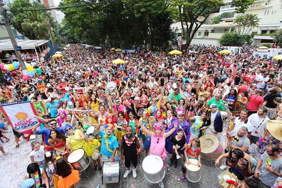 """Bloco """"Mamãe Eu Quero"""" é opção para crianças no carnaval de rua de SP — Foto: Divulgação/Bloco Gente Miúda"""