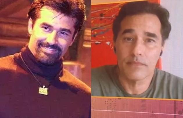 Luciano Szafir viveu Zein em 'O clone'. Recentemente, o ator passou por uma longa hospitalização depois de contrair Covid-19 pela segunda vez (Foto: Reprodução)