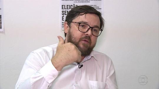 Alexandre Flach (PCO) defende gestão pública para previdência, saúde e educação