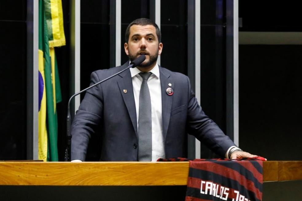 O deputado Carlos Jordy (PSL-RJ) — Foto: Luis Macedo / Câmara dos Deputados