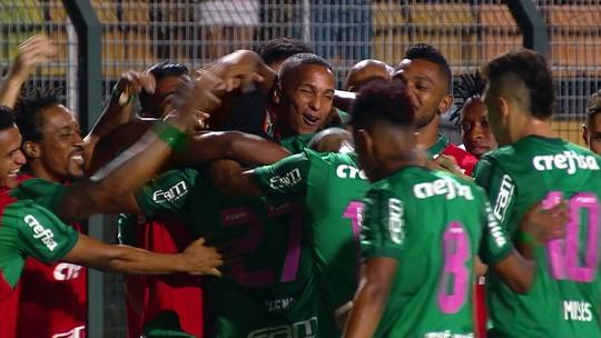Atuações do Palmeiras: Keno e Borja comandam vitória no Pacaembu