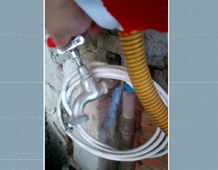 Moradores registram falta de água no bairro Nova América em Piracicaba; VÍDEOS